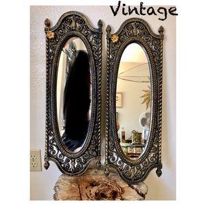 Vintage Dart Ind Hollywood Regency Rococo Mirrors
